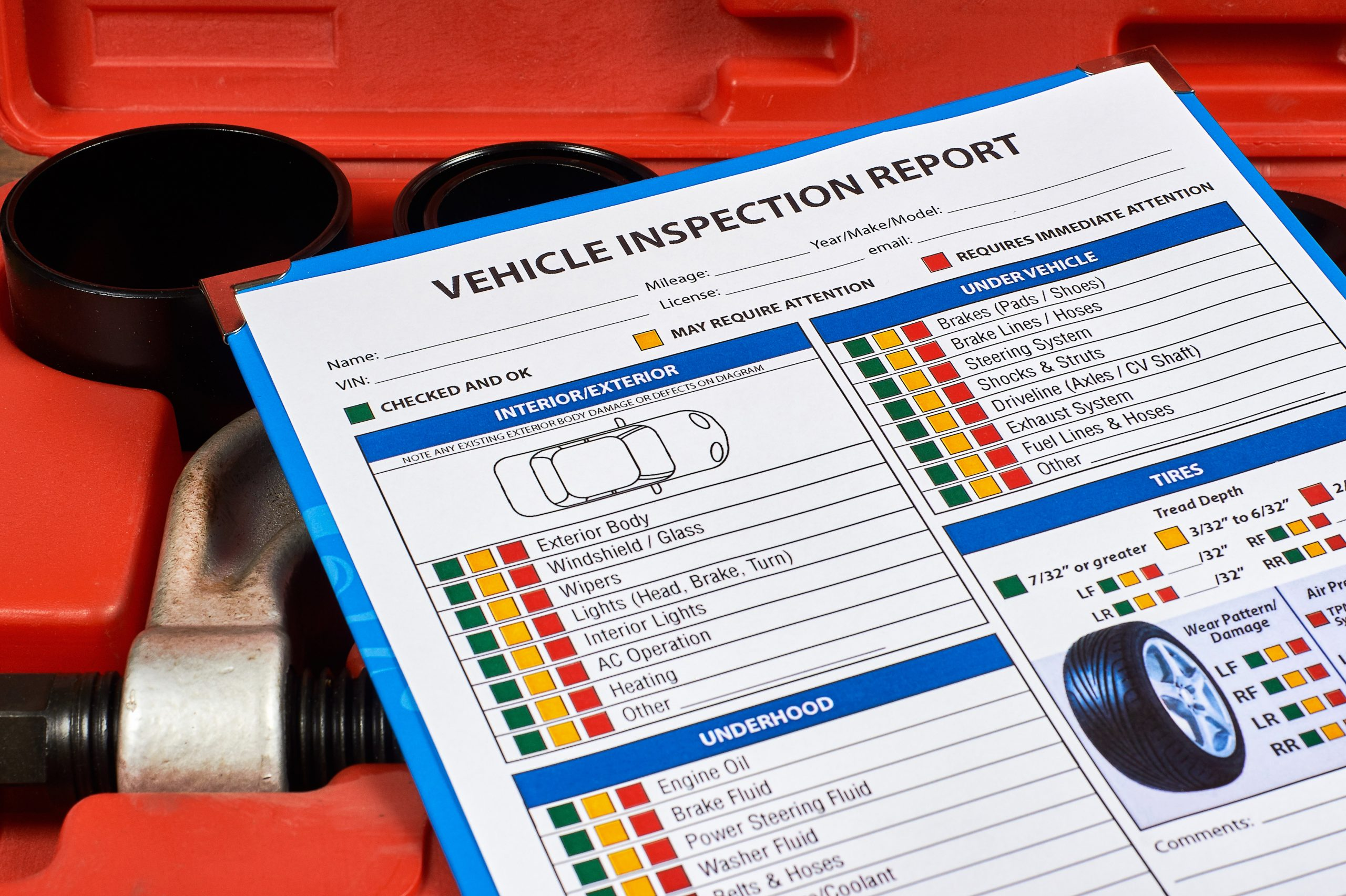 What is Checked During a MA State Inspection?